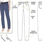 Sewalong:  Style Arc Misty Stretch Pull On Jeans
