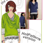 HotPatterns Giveaway: New Layer Cake Tee Pattern