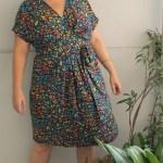 Pattern Review: Wardrobe by Me Curvy Akinori Kimono Dress
