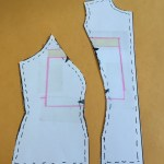 Tutorial: Lowering (or raising) the bust point/fullness for princess seams