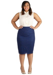 modcloth pencil skirt