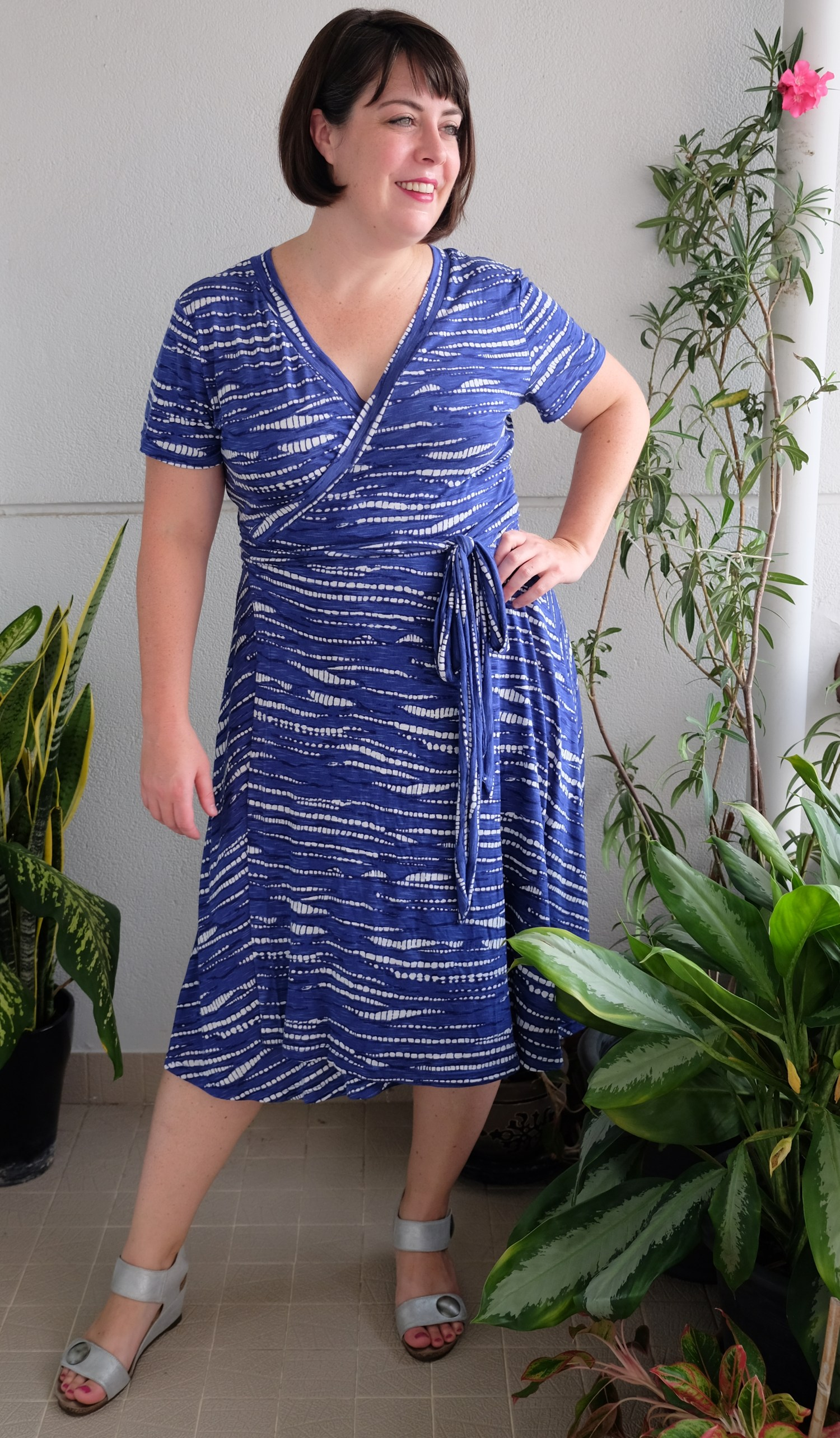 Pattern Review Wardrobe By Me Curvy Diana Wrap Dress