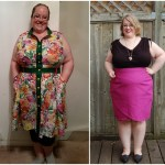 Sewing for My Curves: Andie from Sew Pretty in Pink