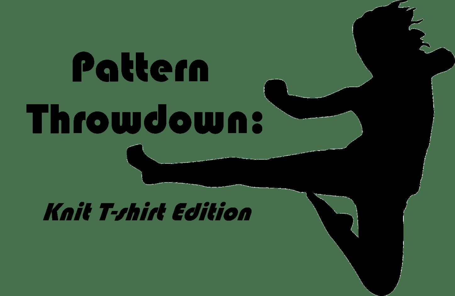 Pattern Throwdown: Knit T-Shirt Edition