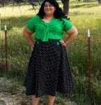 Pattern Review:  Decades of Style 1950's PB&J Skirt