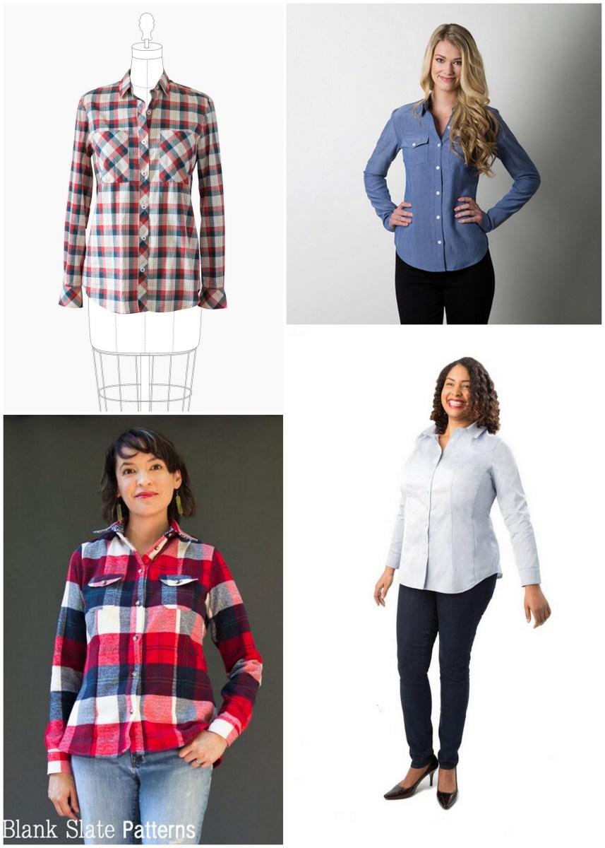 Pattern Round Up: Button Up Shirts