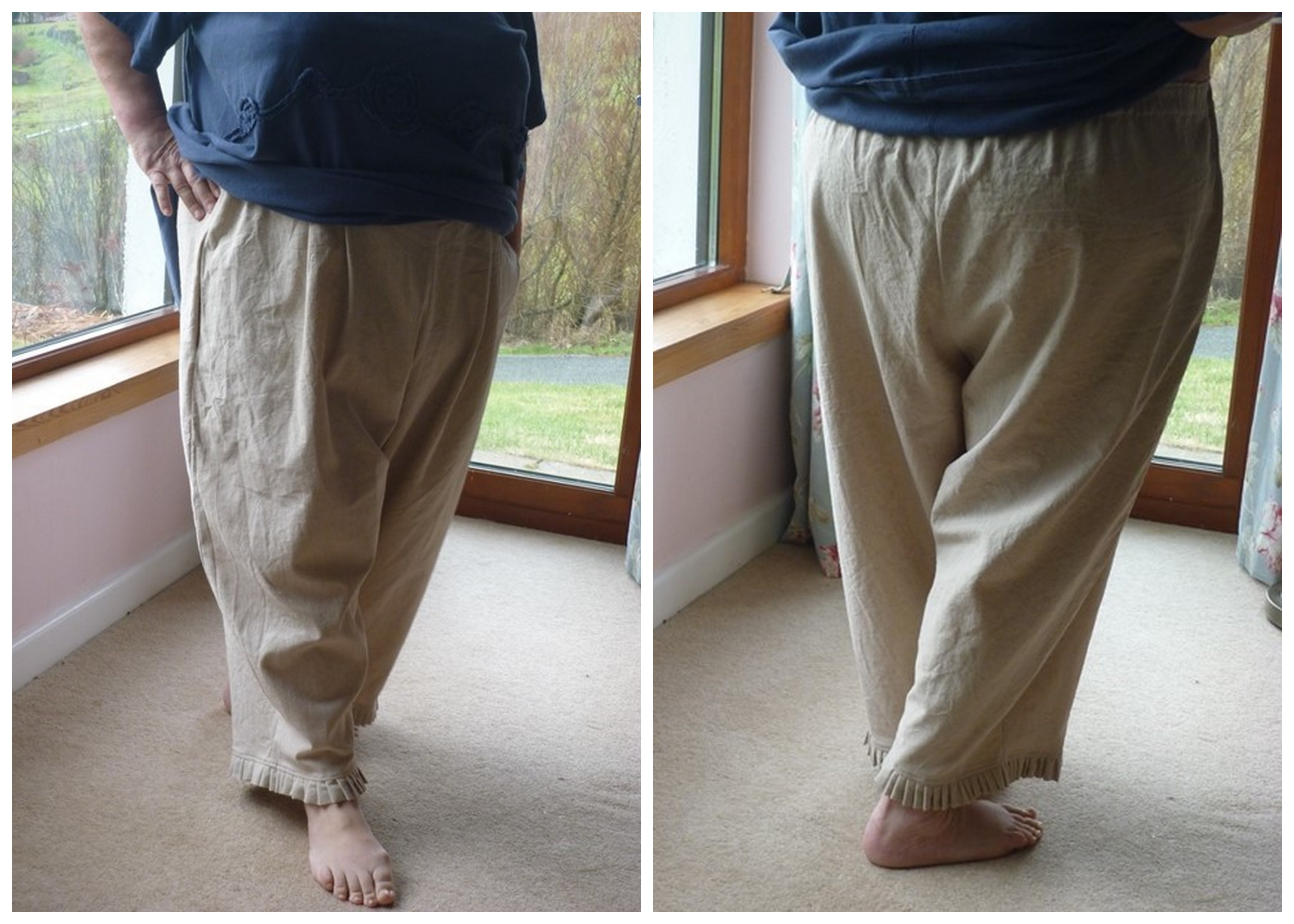 My New Adventure: Sewing Lagenlook Trousers