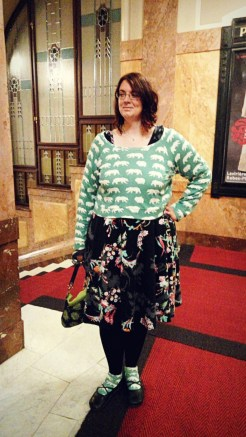 Linden Sweater Moneta Bodice +Lady Skater skirt