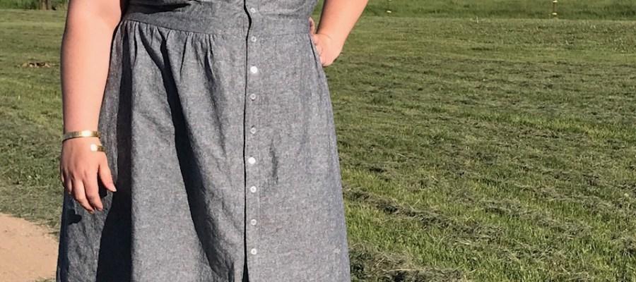 Curvy Review: Cashmerette Lenox Shirtdress