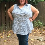 Pattern Hack: A Curvy Bruyere Shirt (Hacked via Lenox Dress)