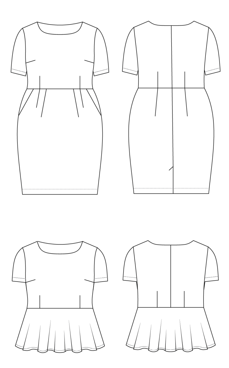 Pattern Review: Cashmerette Rivermont Dress & Top