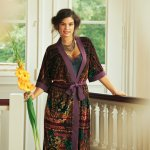 Pattern Review: Burda Neglige and Kimono Robe