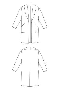 jill line drawing