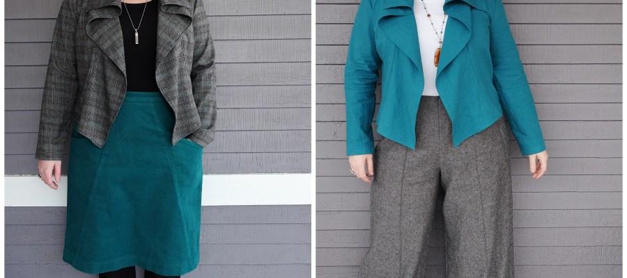 Pattern Review: Itch to Stitch Hvar Jacket