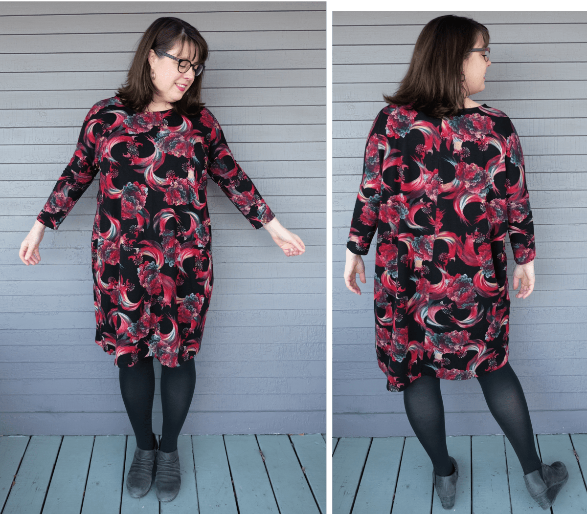 Same Pattern, Different Bodies: Seamwork Tacara Dress