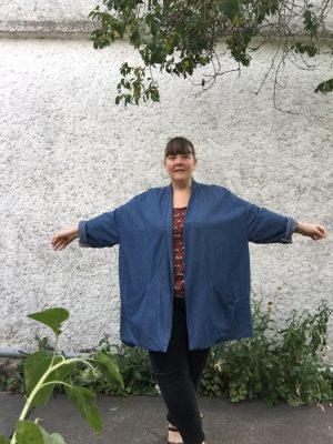 Fat.Bobbin.Girl in Flynn Jacket from In The Folds