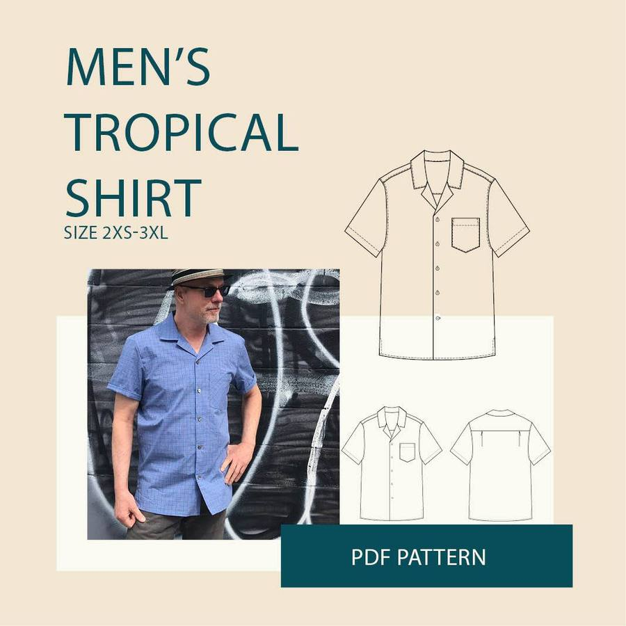 WBM Tropical Shirt Mens