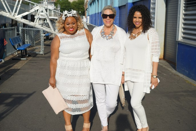 Denise Caldwell(stylist), Marla Wynne(HSN Designer), Friend