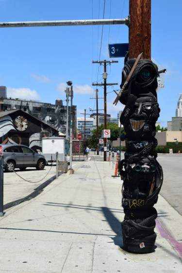 Recycled Tire Totem