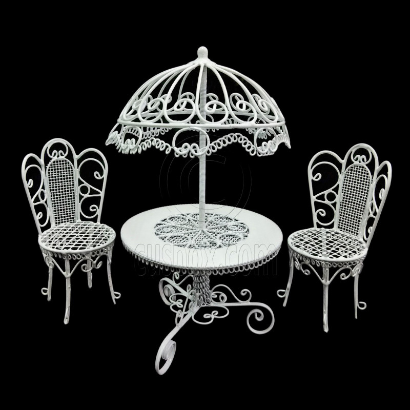 Table And Chair Set Umbrella