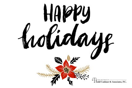 Happy holidays from Todd Cushner and Associates