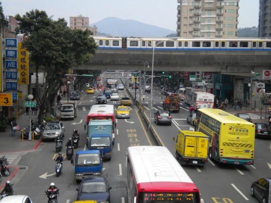 Getting Around Taipei, Taiwan