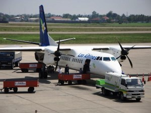 Getting to Vientiane by Air