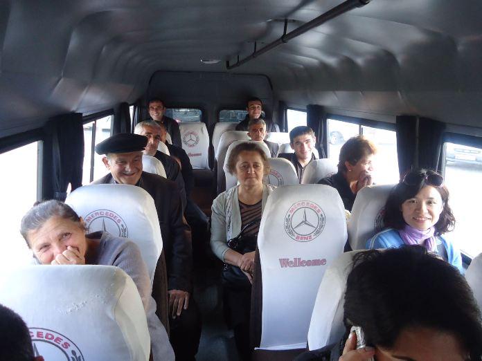 Getting Around, Azerbaijan, bus