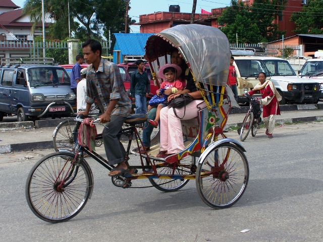 Getting around in Kathmandu