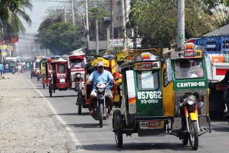 Getting around Manila