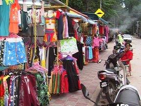 Shopping Pangkor Island