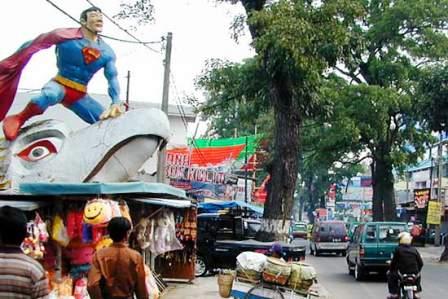 Cihampelas in Bandung