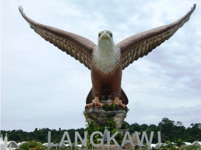 Eagle Square in Langkawi