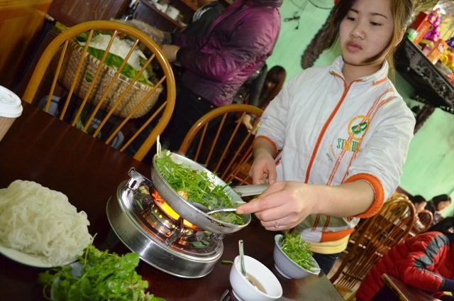 Eating and Drinking in Hanoi
