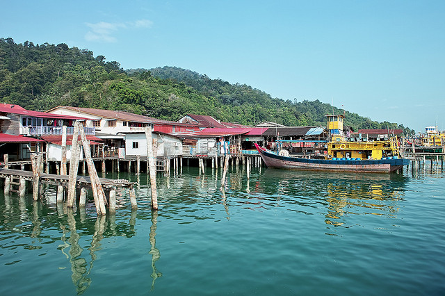 Fishing Village in Pangkor Island
