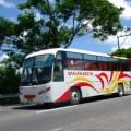 getting to tagaytay, bus