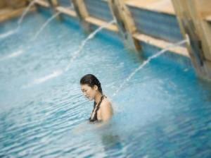 Swimming in Jakarta