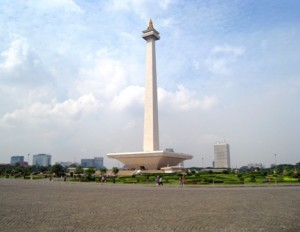 National Monument in Jakarta