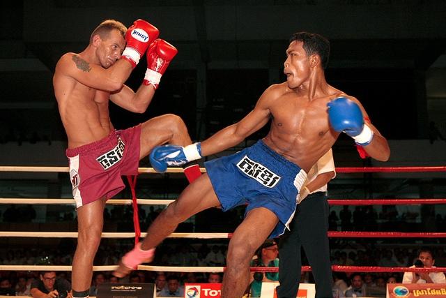 Kickboxing in Phnom Penh