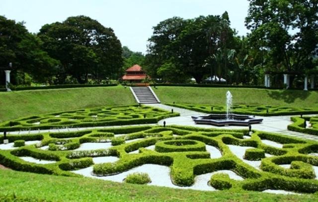 الحدائق في مدينة كوالالمبور، ماليزيا