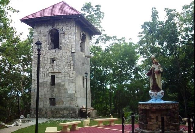 Mt Carmel Hill in Bohol