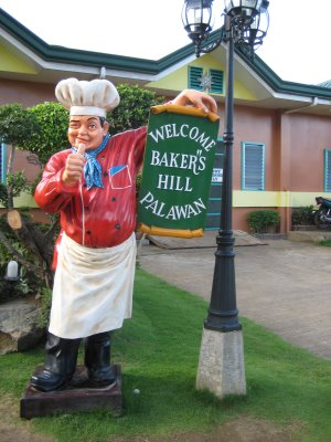 Bakers Hill in Puerto Princesa