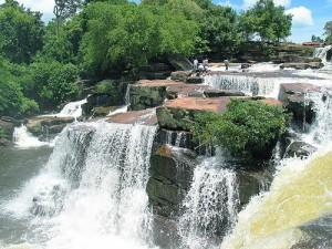 Kbal Chhay Waterfalls in Sihanoukville