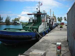 Port of Sihanoukville in Sihanoukville