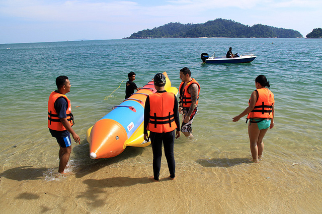 Snorkeling and Other Water Sports in Pangkor Island