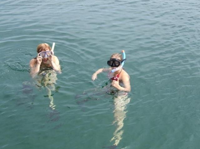 Snorkeling in Sihanoukville