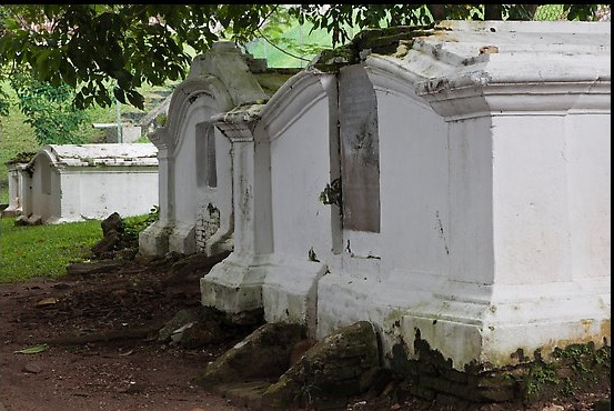 The Tombs in Pangkor Island