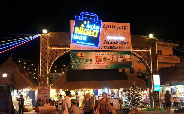 Angkor Market in Siem Reap