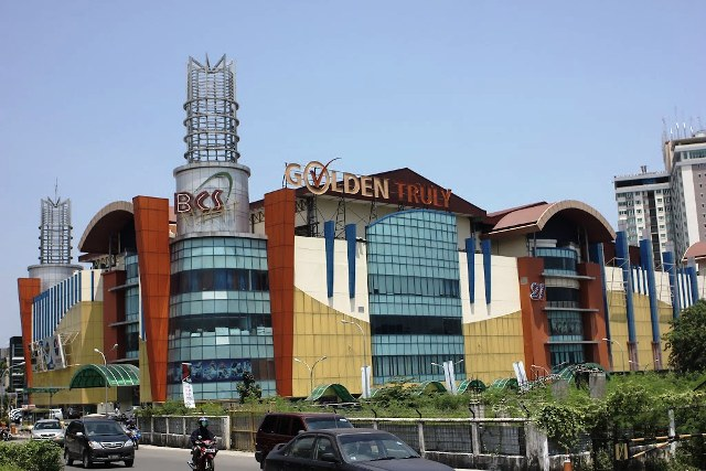 Batam City Square in Batam Island