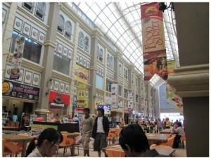 Nagoya Hill Shopping Mall in Batam Island